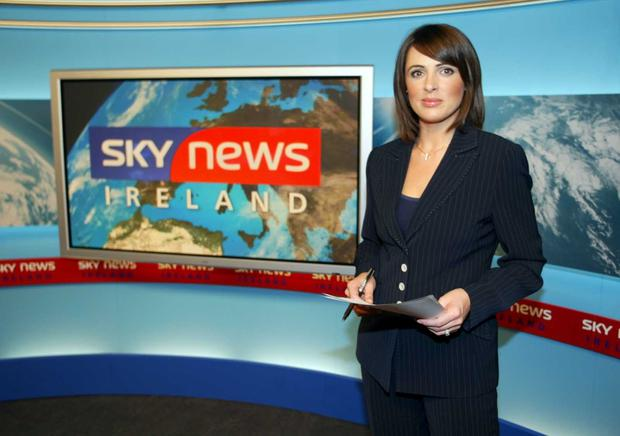 Grainne on Sky News