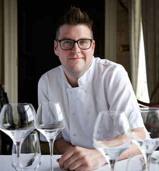 Ken Harker, Executive Chef at the Lady Helen