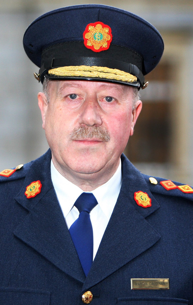 Former Commissioner Martin Callinan Photo: Tom Burke