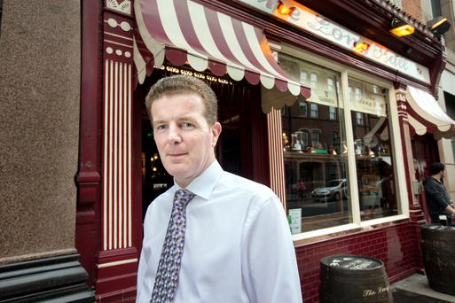 Brexit is a major concern for pub owner Marcus Houlihan