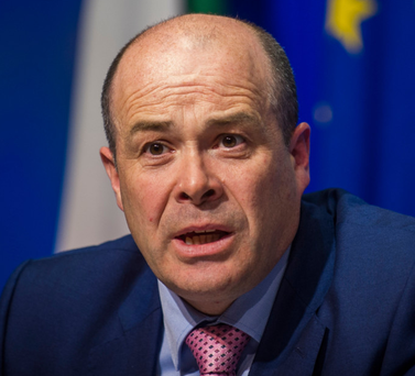 Funding: Minister Denis Naughten is in favour of allowing newspapers to avail of cash deal given to broadcasters Photo: Doug O'Connor