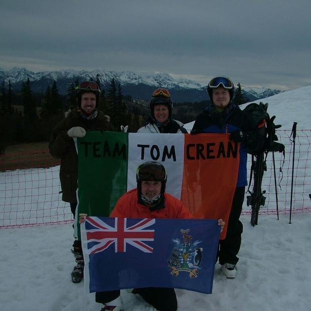 Team Tom Crean Photo: Facebook