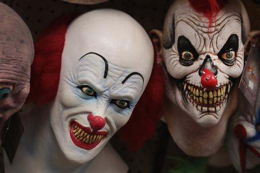 Halloween masks stock image. Photo: Getty