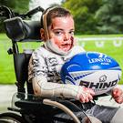 "Liam was ""overjoyed"" when he was named as Leinster's mascot"