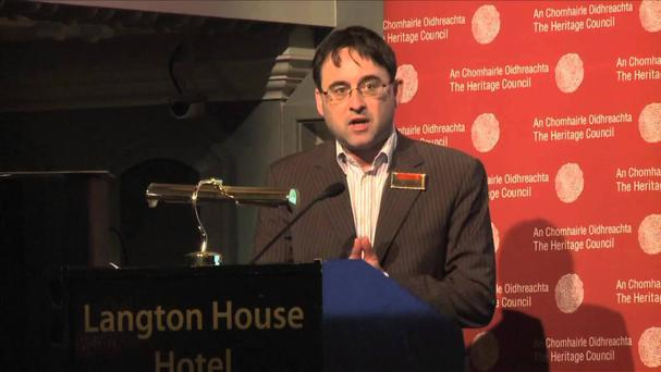 Colm Murray of the Heritage Council