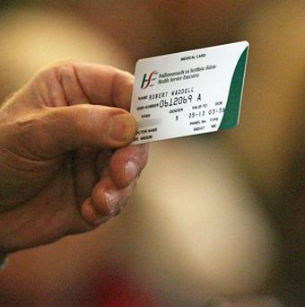 In 2012, 39pc of the over 50s had a full medical or GP visit card and no private health insurance (Stock picture)