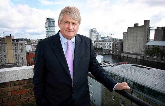 Businessman Denis O'Brien Photo: Tony Gavin