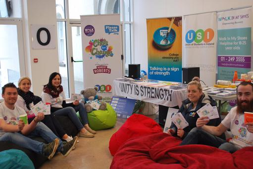 Thousands of 'Chats for Change' packs distributed to Irish universities