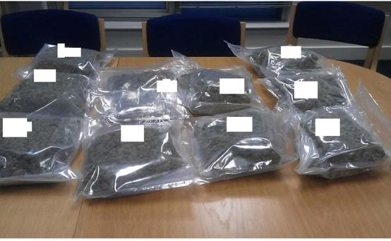 Gardai seized €300,000 worth of cannabis Photo: Gardai