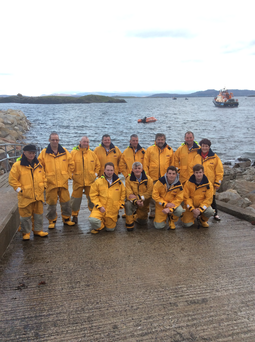 Arramore Lifeboat crew Photo: Aranmore Lifeboat
