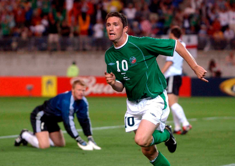 Robbie Keane Picture: Sportsfile