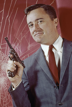 superstar SHOOTING STAR: Vaughn was best known for playing a secret agent in 'The Man from U.N.C.L.E.'