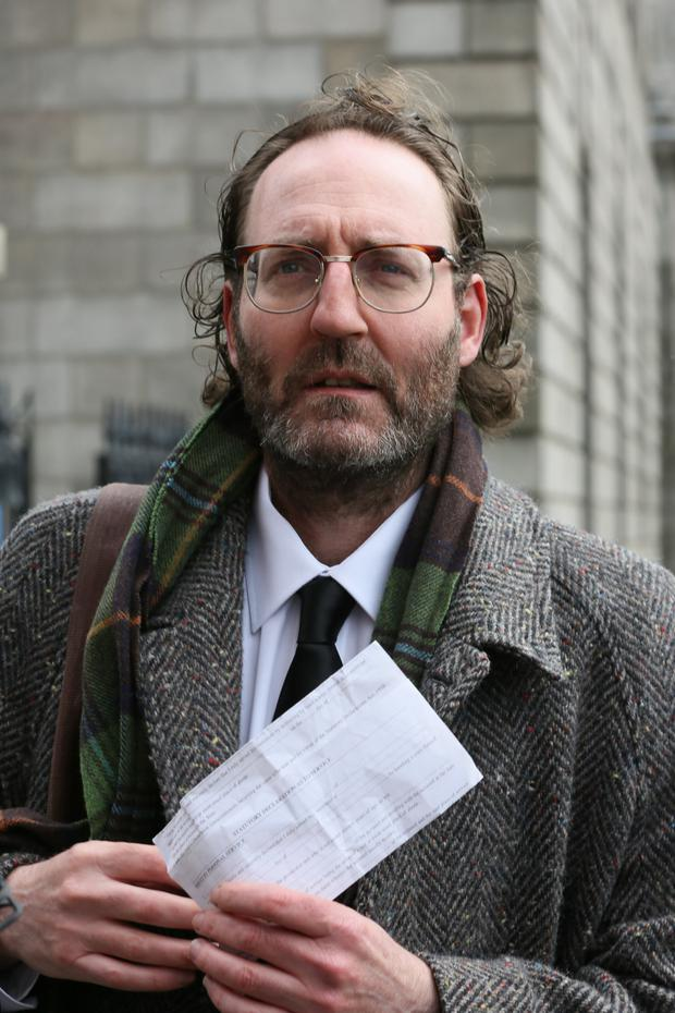 Comedian David McSavage, who was fined recently for refusing to pay the €160 licence fee, described the review as 'b******s'