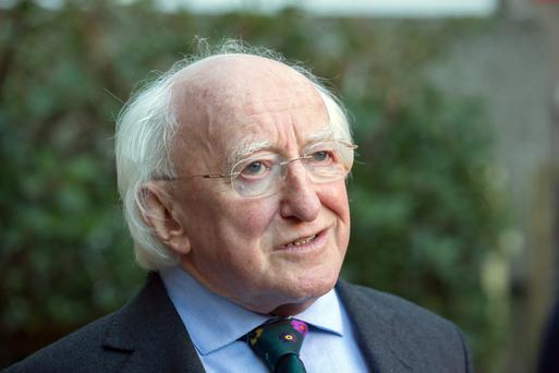 REACTION: President Michael D Higgins praised Fidel Castro