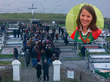 Majella Donoghue was laid to rest in her hometown of Mayo