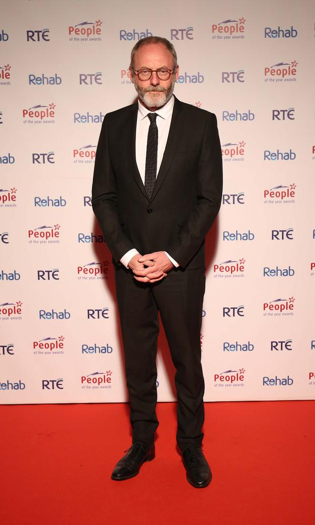 Liam Cunningham was another guest at the gala event Picture: Robbie Reynolds