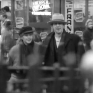 Shane and Kirsty in the video for Fairytale of New York