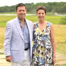 Declan Kelly and Julia Kelly at the Royal Academy America summer brunch last July in East Hampton, New York. Photo: Jared Siskin/Patrick McMullan
