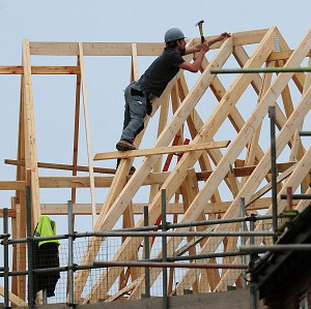 Construction firms continued to record strong growth of activity last month Stock photo: PA