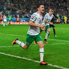Included among the most popular Google searches of the year in Ireland were; Robbie Brady at Euro 2016
