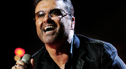 George Michael performing at the Point Depot in 2006 Picture: Steve Humphreys