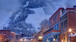 Chilling out - Melanie Griffith has a home in Aspen