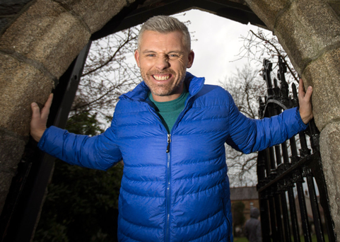 Funny man: Des Bishop is now comfortable with self-reflection and includes relationships in his act Photo: Mark Condren
