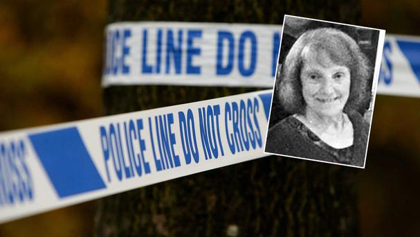 Inset: Helen Jones (81) originally from Co Mayo, was stabbed to death at her home