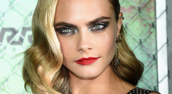 Model Cara Delevingne has a huge following on social media Photo: Getty