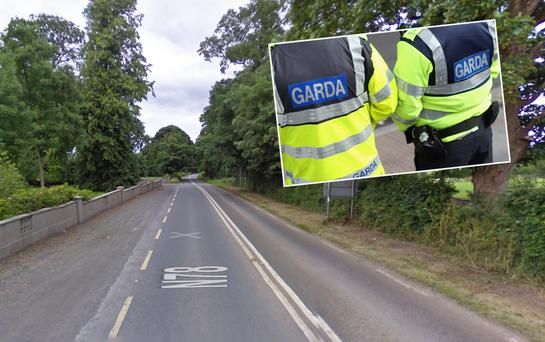 The accident occurred on the N78 road, Co Carlow