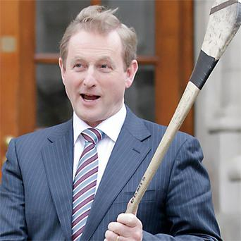 'President Trump, then, would do well to beware of Taoisigh bearing gifts of commemorative hurleys on St Patrick's Day – given Enda's startling call to arms in the Dáil.'