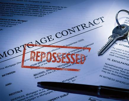 'As the vulture fund era enters end game in this country, we will see more repossessions.' Stock Image