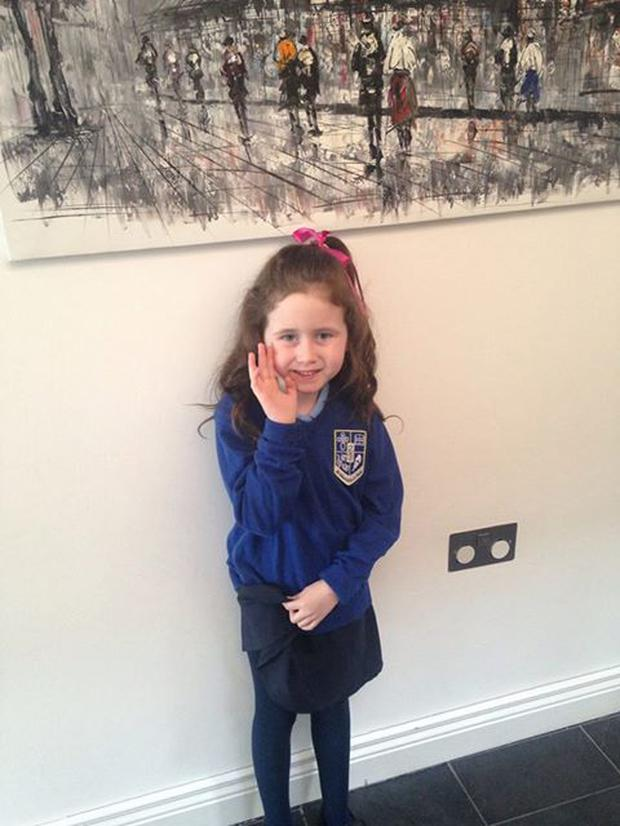 Doireann (6) sadly passed away from cancer