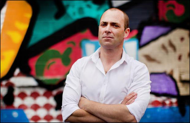 Read it and weep: Award-winning author Donal Ryan says success in the literary world has not been enough to make a full-time living. Photo: David Conachy