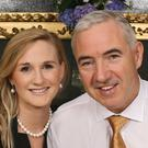Developer Sean Dunne and his wife Gayle Killilea Photo: Edmund Ross