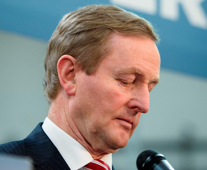 'The Government has survived a motion of confidence despite the obvious fact that a majority of TDs in the Dáil don't believe in it or Enda Kenny's leadership.' Photo: Getty