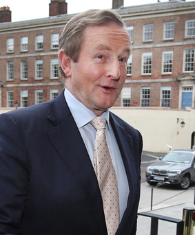 Taoiseach Enda Kenny Photo: Steve Humphreys