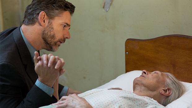 Twist: Eric Bana plays Dr William Grene, who helps trigger the memories of Vanessa Redgrave's character Roseanne McNulty