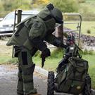 Defence Forces Bomb Disposal Team