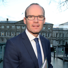 Housing Minister Simon Coveney. A recent poll put Mr Coveney behind Leo Varadkar when respondents were asked who should succeed Enda Kenny as FG leader - but only just Photo: Tom Burke