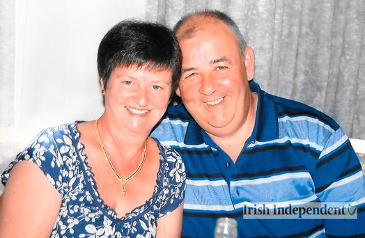 Victims Laurence and Martina Hayes, from Athlone, Co Westmeath