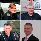 The four Coast Guard members on board Rescue 116: Dara Fitzpatrick, Paul Ormsby, Mark Duffy and Ciarán Smith