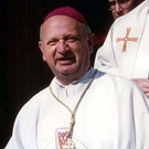 CHARMING: Former bishop Eamonn Casey died last Monday