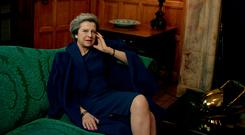 British Prime Minister Theresa May has been photographed by Annie Leibovitz for next month's 'Vogue' magazine. Photo: Annie Leibovitz/'Vogue'
