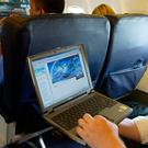Passengers will not be allowed to use laptops. Photo: PA