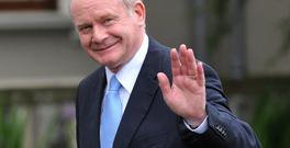 Martin McGuinness in 2012