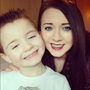 Lynsey Hagen and son Lucas