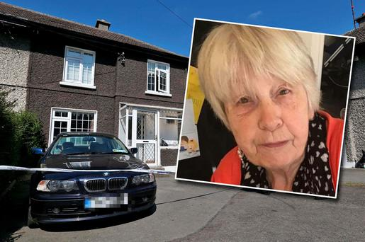 May Brown (77) was shot in a reckless attack at her south Dublin home