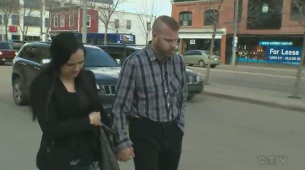 Jashua Robert Tremblay (34) attended a sentencing hearing in Edmonton court this week