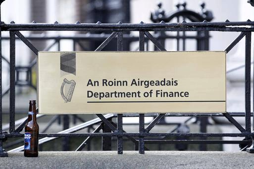 'As the accompanying chart shows, the department expects its total revenues - taxes, social contributions and all other sources of funds - to rise gradually over the next five years, from €73bn in 2016 to €87bn by 2021.' (stock photo)